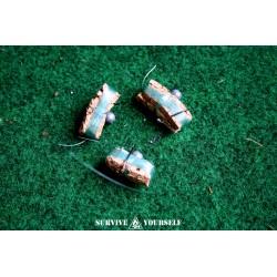SY Mini Angelset - 3 Stück  (für Survival-Kit, EDC etc)