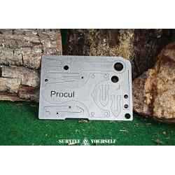 PROCUL Plenus All-In-Card 2 - DIE ultimative Survivalcard