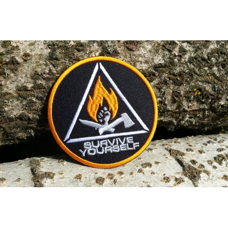 "SY Patch ""Orange-Fire"""