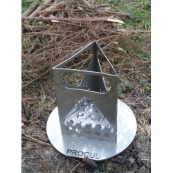 PROCUL Mini-Protector / Topfdeckel mit Sieb + Säge