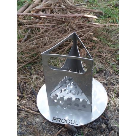 Mini-Protector / Topfdeckel mit Sieb + Säge