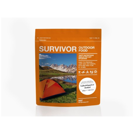 Survivor Outdoor Food - Vollmilchpulver instant
